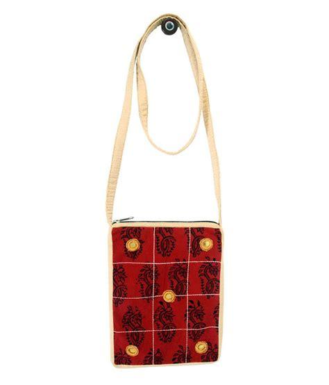 Printed Sling Bag buy viniyog printed cotton sling bag at best prices in