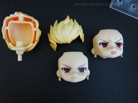 Nendoroid Faceplate 542 B wedy was here unboxing gsc nendoroid 410 fate stay gilgamesh