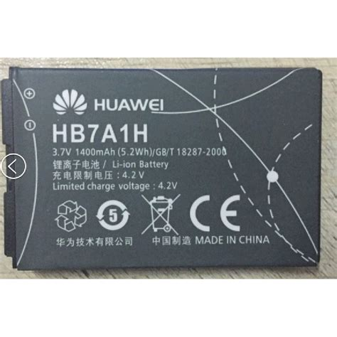 Baterai For Huawei Mobile Wireless Modem 2600 Mah Hb5l1h 02 baterai for huawei huawei c6100 c2822 e583c c2823 c2827 c2829 e5830 e5 1400 mah hb7a1h black