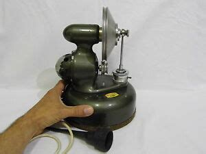 vintage antique membrane air compressor dental aluminum housing ebay
