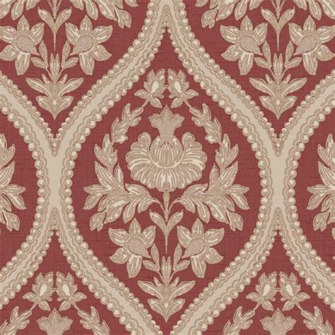 red damask wallpaper home decor holden decor pienza damask wallpaper red 35483 holden decor from henderson interiors uk