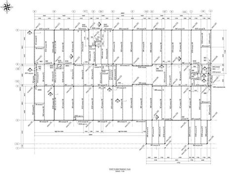 steel floor framing plan first floor framing plan structural modeling steel