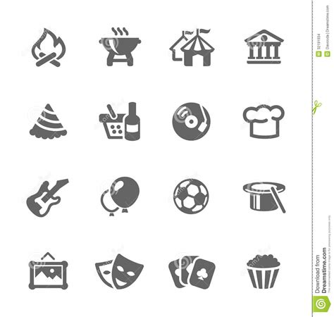 event layout vector event icons stock images image 32191934