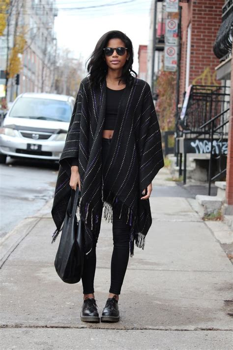 High Heels Fashion Dr Hijau outfitters poncho american apparel crop top topshop dr martens shoes