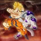 Archivo:Goku ssj1 vs. freezer final.jpg | Dragon Ball Fanon Wiki ...