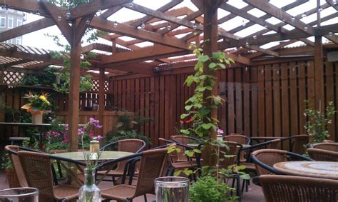 the amazing back patio at the innkeeper yelp