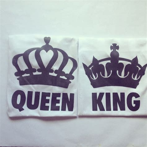 imagenes de amor king y queen franelas king queen para parejas oferta bs 4 100 00