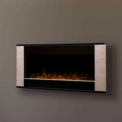 electric wall mounted fireplaces dimplex strata linear wall mount electric fireplace