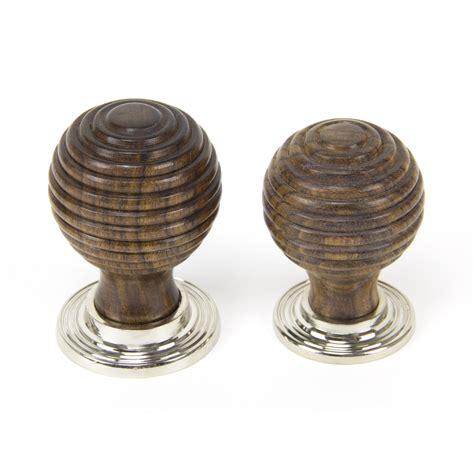 nickel beehive cabinet knob small rosewood polished nickel beehive knob period