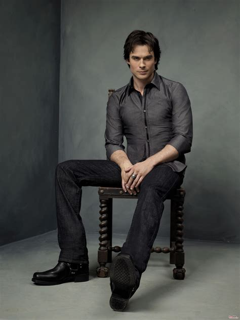 Damon Salvatore Wardrobe by Ian Somerhalder Photoshoot Hq Ian Somerhalder Photo