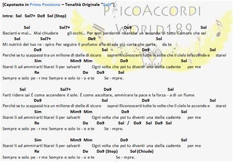 stella testo psicoaccordiworld189 mod 224 stella cadente accordi e