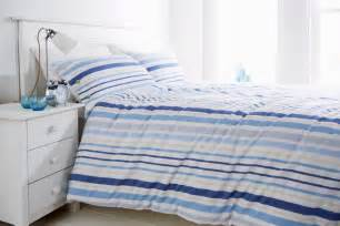 duvet cover nautical blue stripe 100 cotton nautical bedding duvet cover set