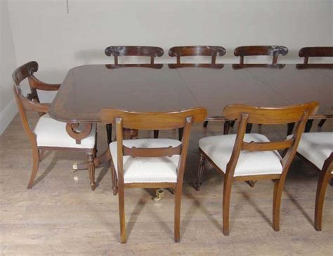 10 Foot Dining Table 10 Ft Regency Dining Table Set 10 Chairs Chair