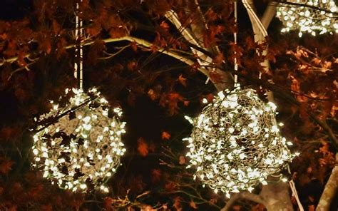 how to make christmas light balls how to make lighted balls
