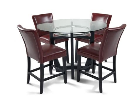 Bobs Dining Room Sets | matinee pub 5 piece set room set colors and chairs