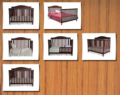 Summer Crib by Summer Infant Bryant 4 In 1 Convertible Crib With Simple