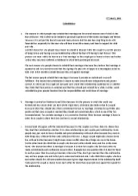 Essay On Cohabitation Before Marriage by Students Cohabitation Essay