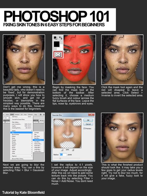 tutorial photoshop fix photoshop 101 fixing skin by katebloomfield on deviantart
