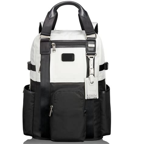 Tumi Backpacker 1 tumi alpha bravo lejeune backpack tote in black for black white lyst