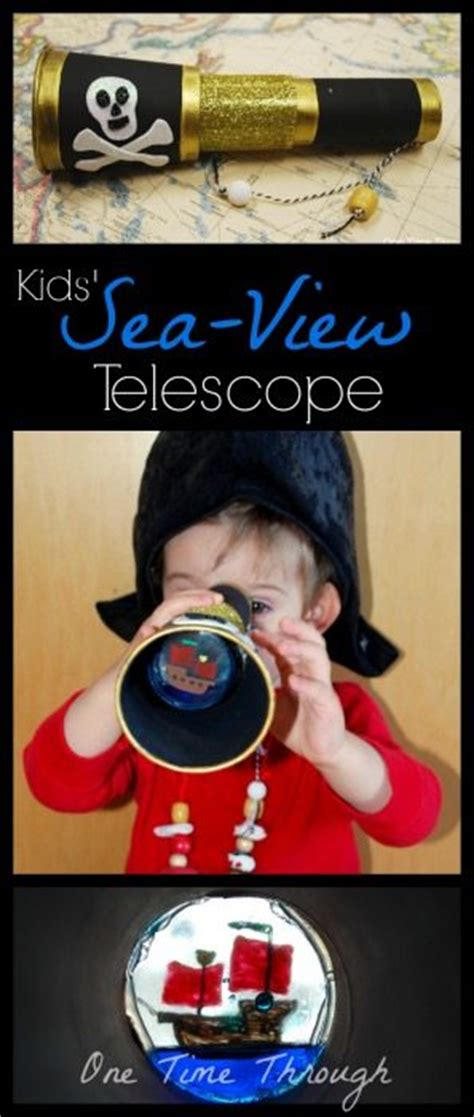 Free Telescope Giveaway - ahoy matey kids sea view telescope craft