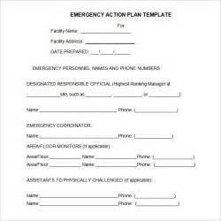 occupant emergency plan template occupant emergency plan template plan template