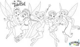 tinkerbell friends coloring pages minister coloring