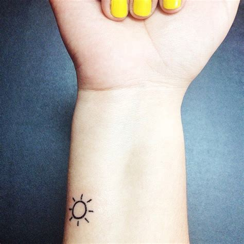 here comes the sun tattoo small sun tattoos on sun small tiny
