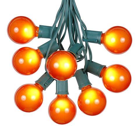 Globe Light String by Globe Shaped Outdoor G50 Light String Sets Novelty
