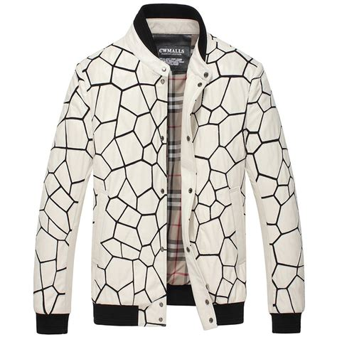 White Quilted Leather Jacket by Cwmalls 174 White Quilted Leather Jacket Cw806056