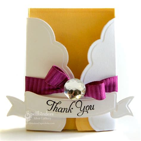 Thank You For Gift Cards - thank you gift card holder think crafts by createforless