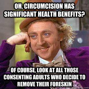 Circumcision Meme - the hidden problems with circumcision