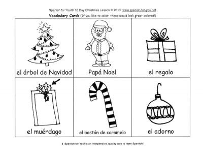 printable christmas games in spanish spanish christmas worksheets free printables spanish