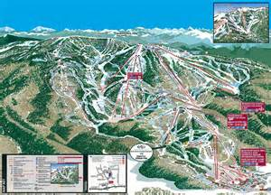 map of ski resorts colorado steamboat ski resort map