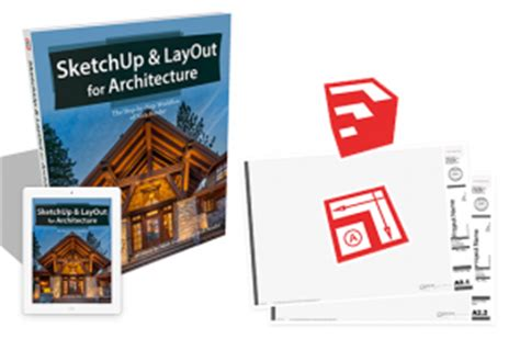 sketchup layout ebook sketchup layout for architecture book the step by step
