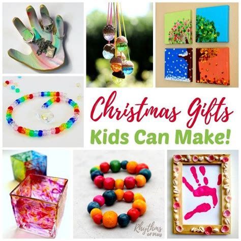 christmas gifts kids can make rhythms of play
