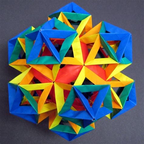 Dodecahedron Paper Folding - dodecahedron folding kit demo