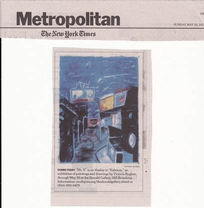 new york times metropolitan section playwright victoria bugbee new york ny reviews