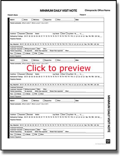 Maintenance Note The Paperwork Project Chiropractic Soap Notes Template Free