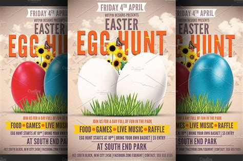 Free Sample Resumes Download by Easter Egg Hunt Flyer Template Flyer Templates