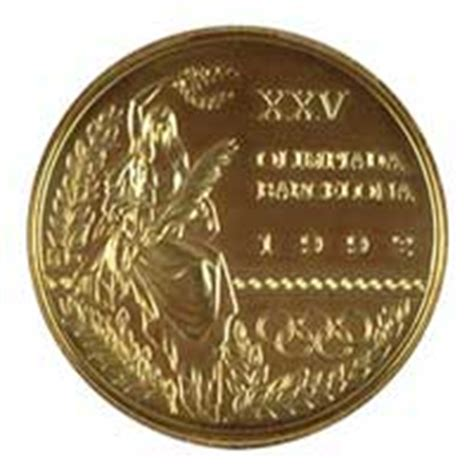 1992 Olympics Medal Table by Barcelona 1992 Summer Olympic Of The Xxv