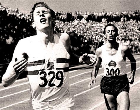 roger banister bannister landy the miracle mile august 7 1954 past daily reference room past