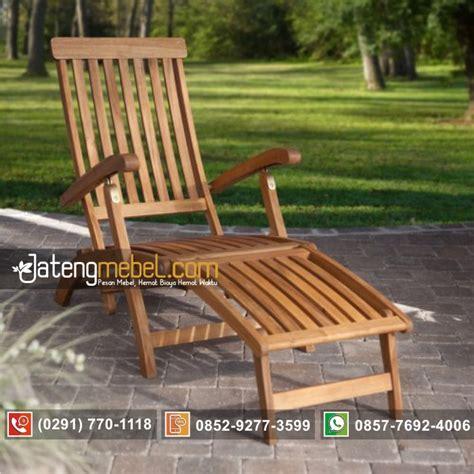 Kursi Lipat Santai toko furniture jual kursi taman santai lipat steamer harga murah jateng mebel