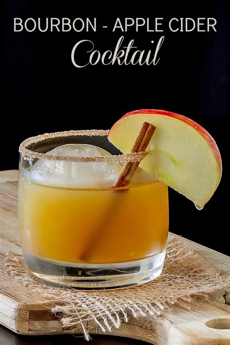 bourbon and apple cider cocktail recipe dishmaps