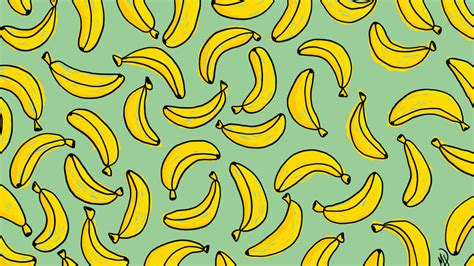 banana wallpaper pattern banana desktop wallpaper by megsneggs on deviantart