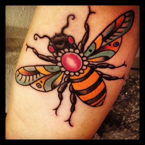 traditional bee bee tattoos