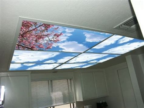 cirrus clouds skypanels replacement fluorescent light
