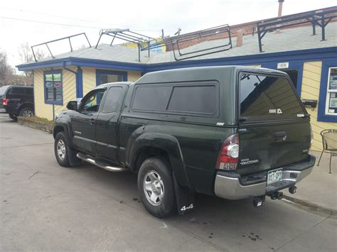 Topper For Toyota Tacoma Toyota Tacoma Green Mx Topper Denver Suburban Toppers