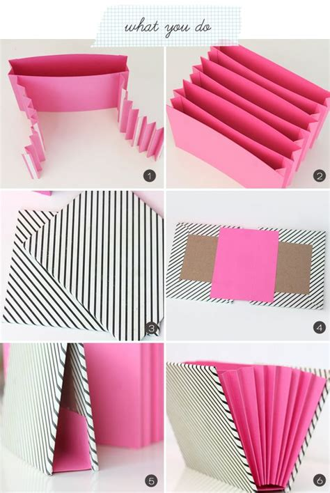 How To Make A Paper Organizer - 1000 ideas about diy on crafts and