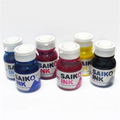 Tinta Printer Epson Saiko Ink Tinta Refill Saiko Ink Griptive 6 Warna 100 Ml Paket
