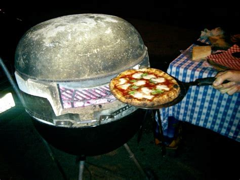 Oven Webber build a pizza oven out of a weber grill